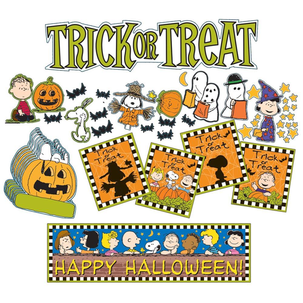 EU-847031 - Peanuts Halloween Mini Bulletin Board Set in Holiday/seasonal