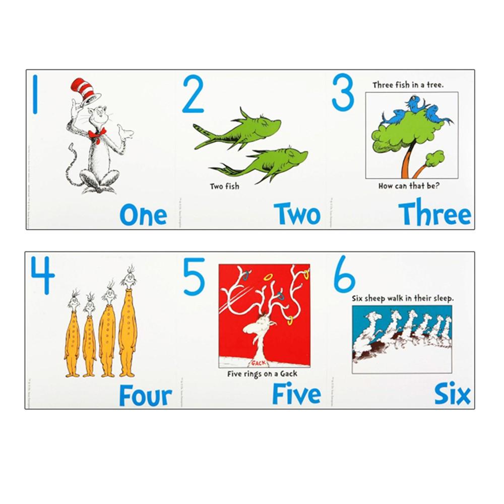 EU-847641 - Dr Seuss Numbers 1-20 Bulletin Board Set in Math