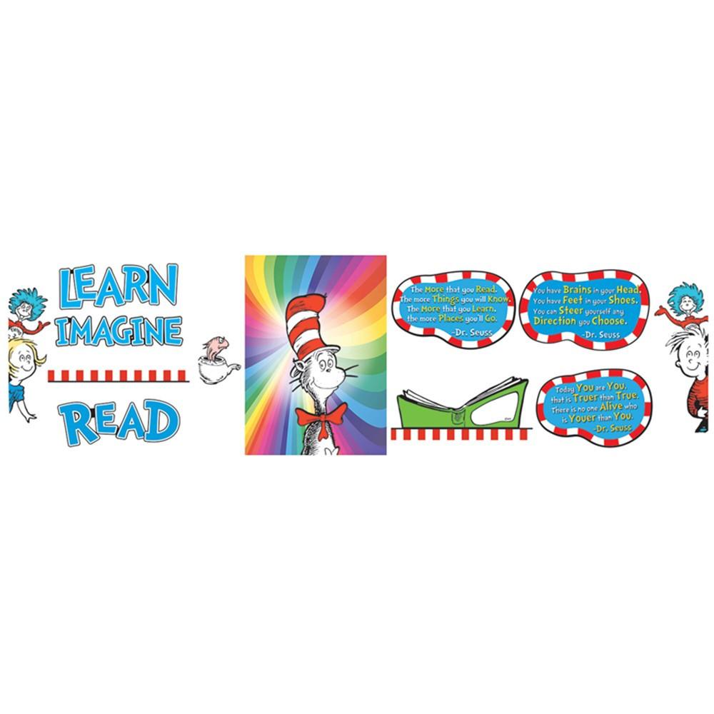 EU-847675 - Dr Seuss 3D Read Bulletin Board Set in Language Arts