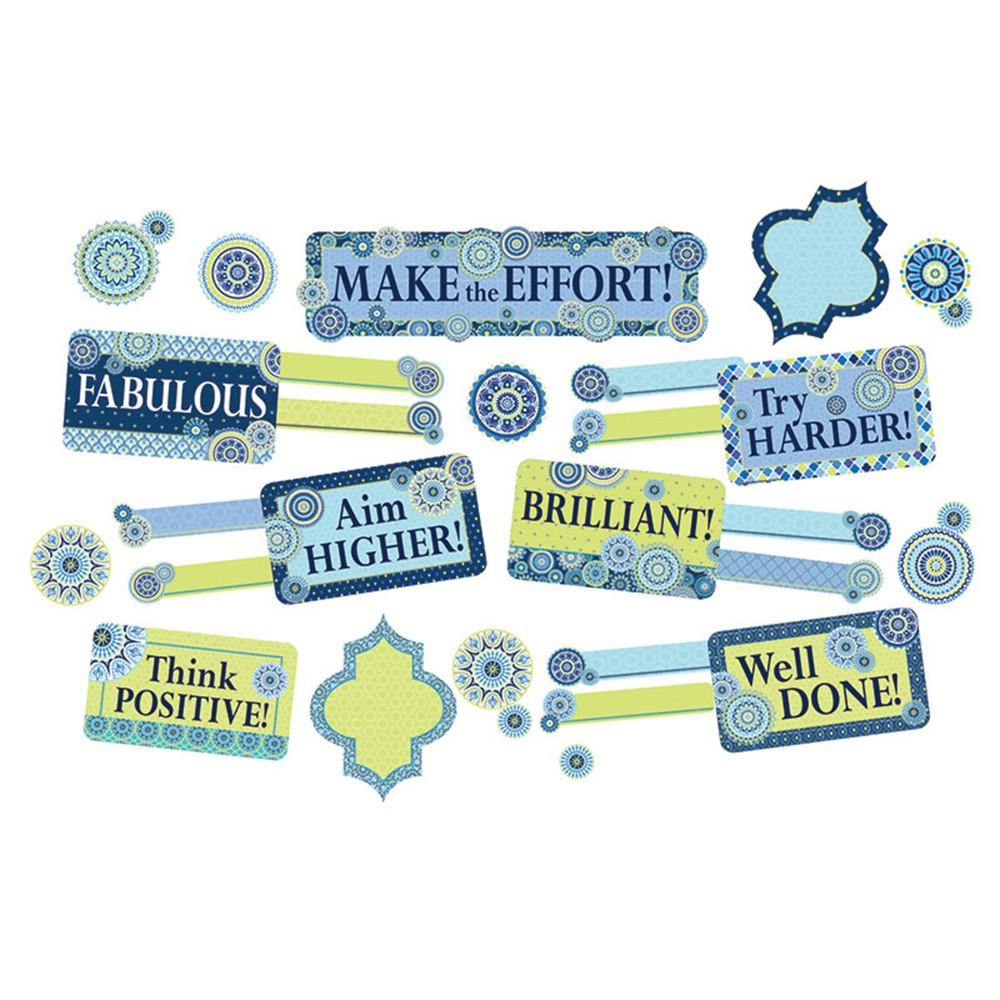 EU-847778 - Blue Harmony Class Manage Mini Bulletin Board Set in General