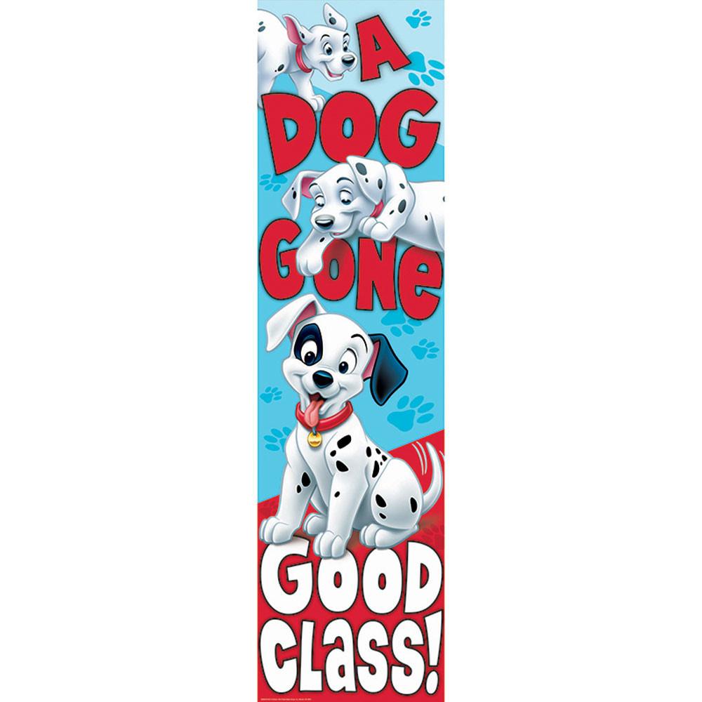 EU-849031 - 101 Dalmatians Dog Gone Good Class Vertical Banner in Banners