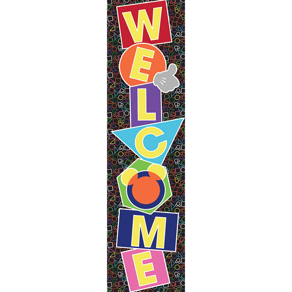 EU-849723 - Geo Mickey Vertical Banner in Banners