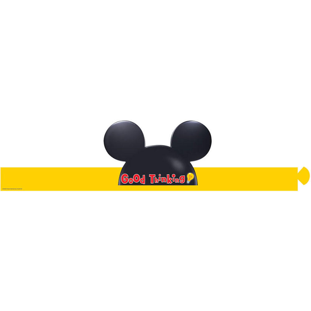 EU-861003 - Mickey Mouse Clubhouse Good Thinking Wearable Hats in Crowns