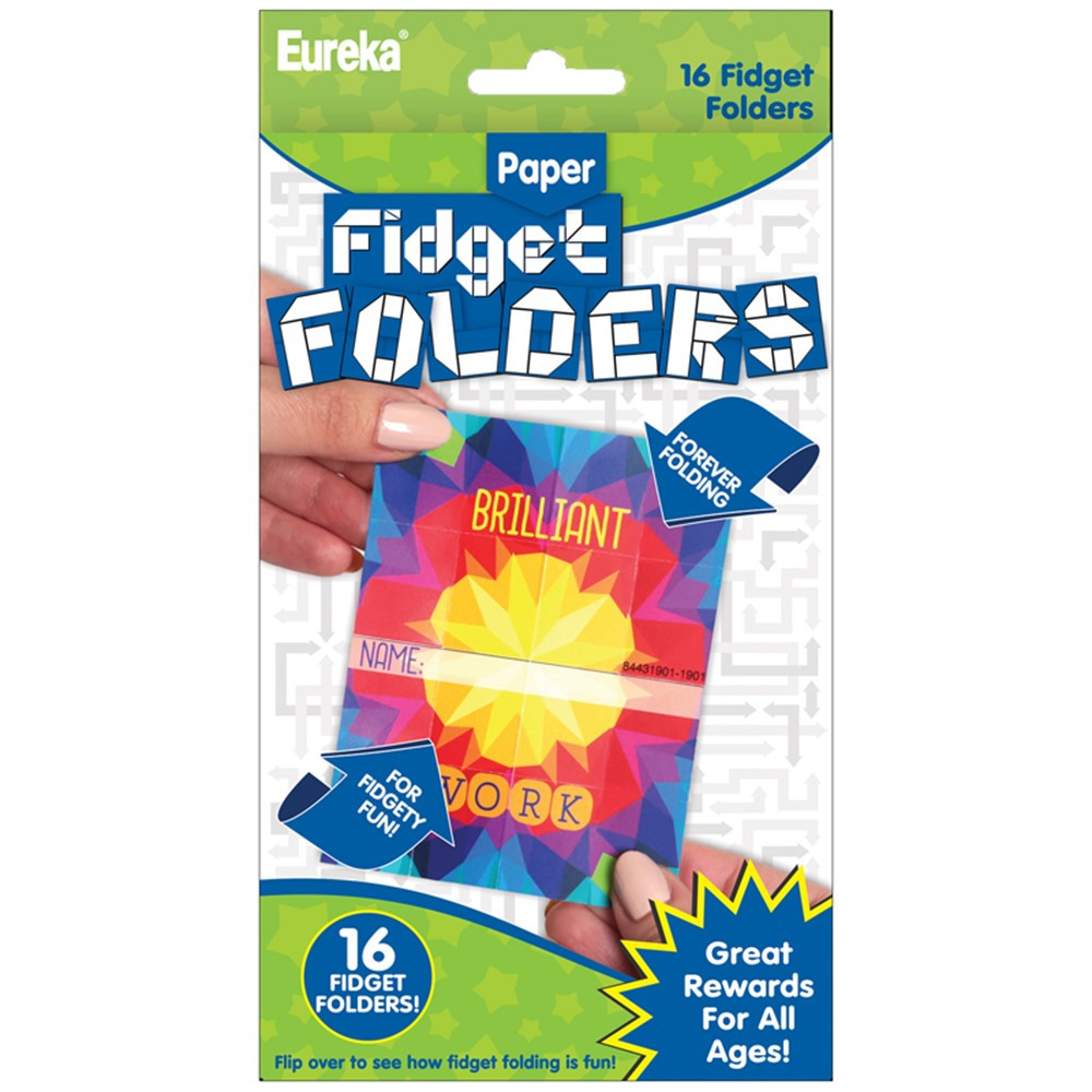 EU-872004 - Fidget Folders Kaleidoscope in Folders