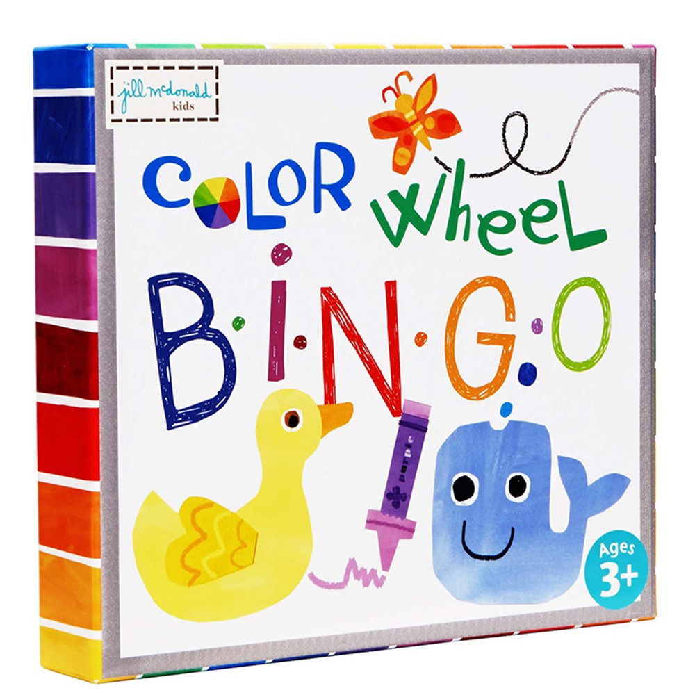 EU-BJPB13743 - Color Wheel Puzzle Bingo Game in Bingo