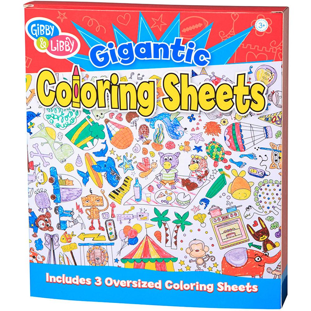 Ready Set Color Giant Coloring Book - EU-BTC18428 | Eureka | Arts ...