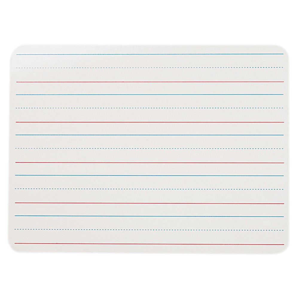 FLP10034 - Double Sided Dry Erase Boards 9X12 Single in Dry Erase Boards