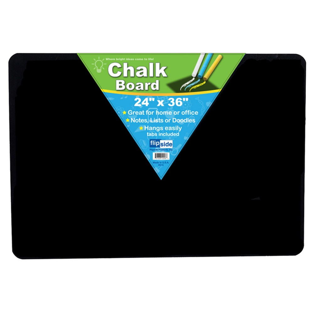 FLP10206 - Black Chalk Board 24 X 36 in Chalk Boards