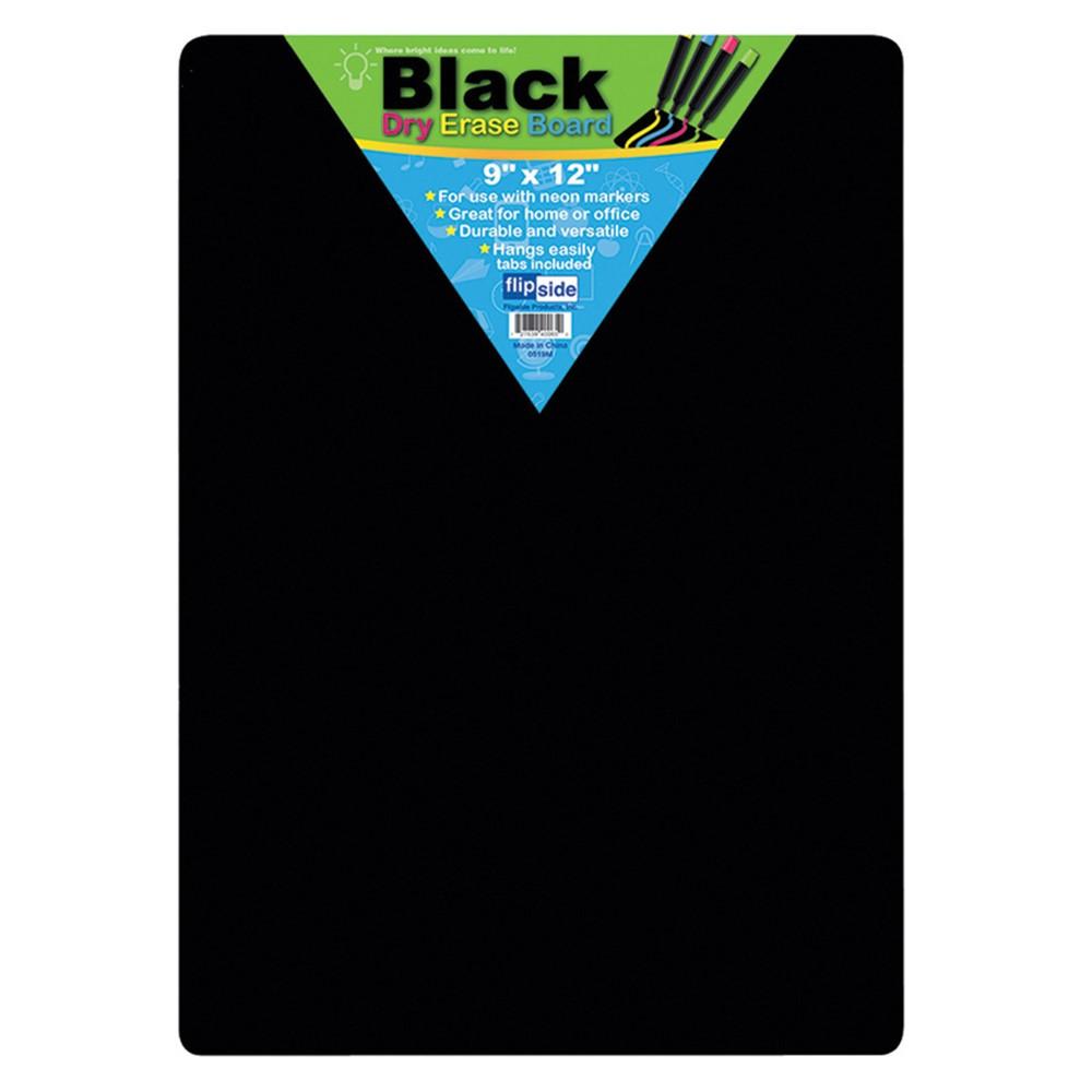 FLP40065 - Black Dry Erase Boards 9 X 12 in Dry Erase Boards