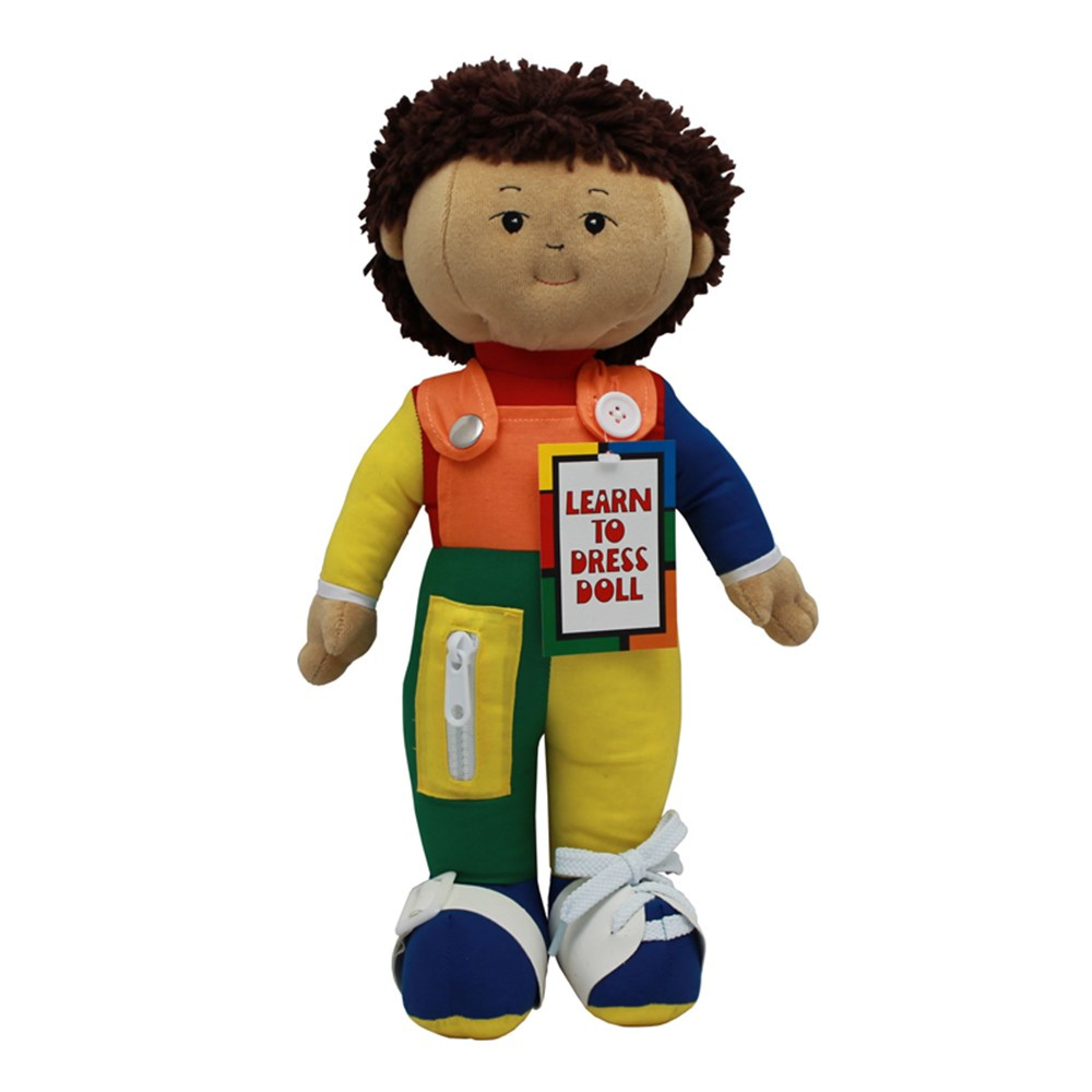 FPH853 - Learn To Dress Doll Hispanic Boy in Dolls