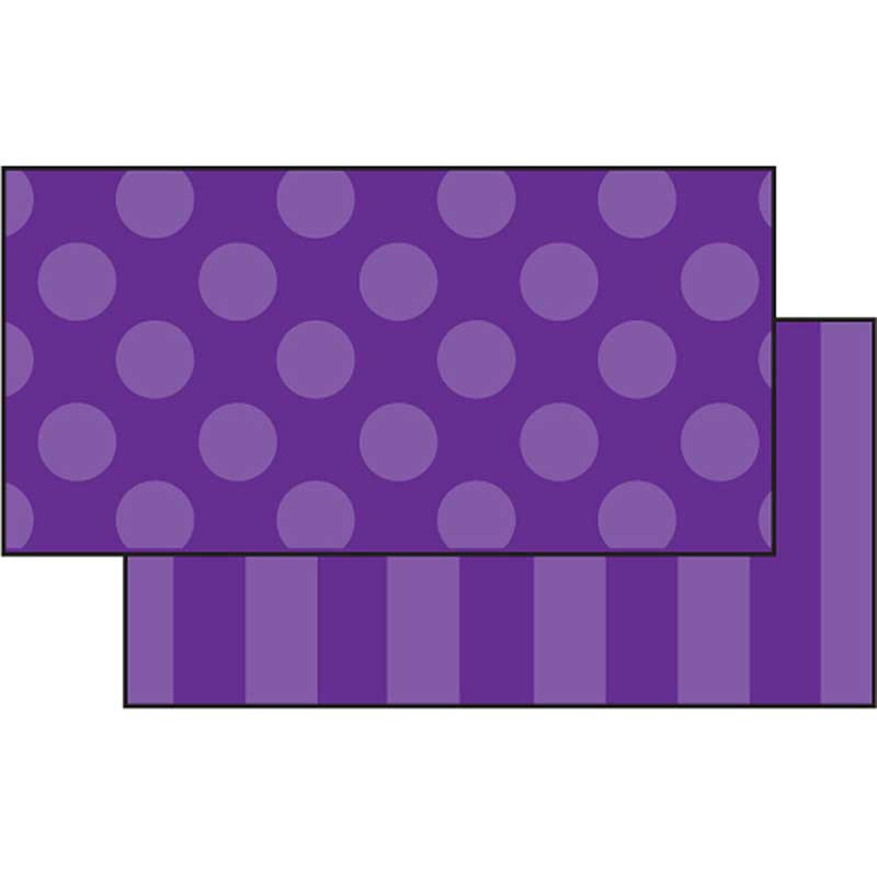 FST3153 - Purple Sassy Solids Double Sided Border in Border/trimmer
