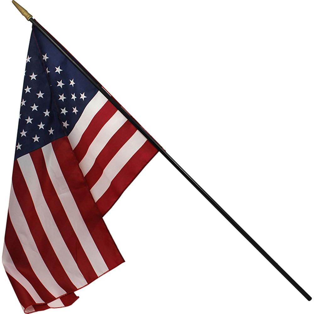 FZ-1049304 - Heritage Us Classroom Flag 16 X 24 Flag 3/8 X 36 Staff in Flags