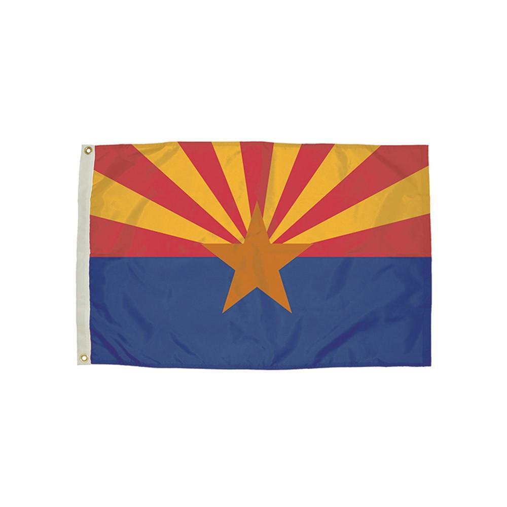 FZ-2022051 - 3X5 Nylon Arizona Flag Heading & Grommets in Flags