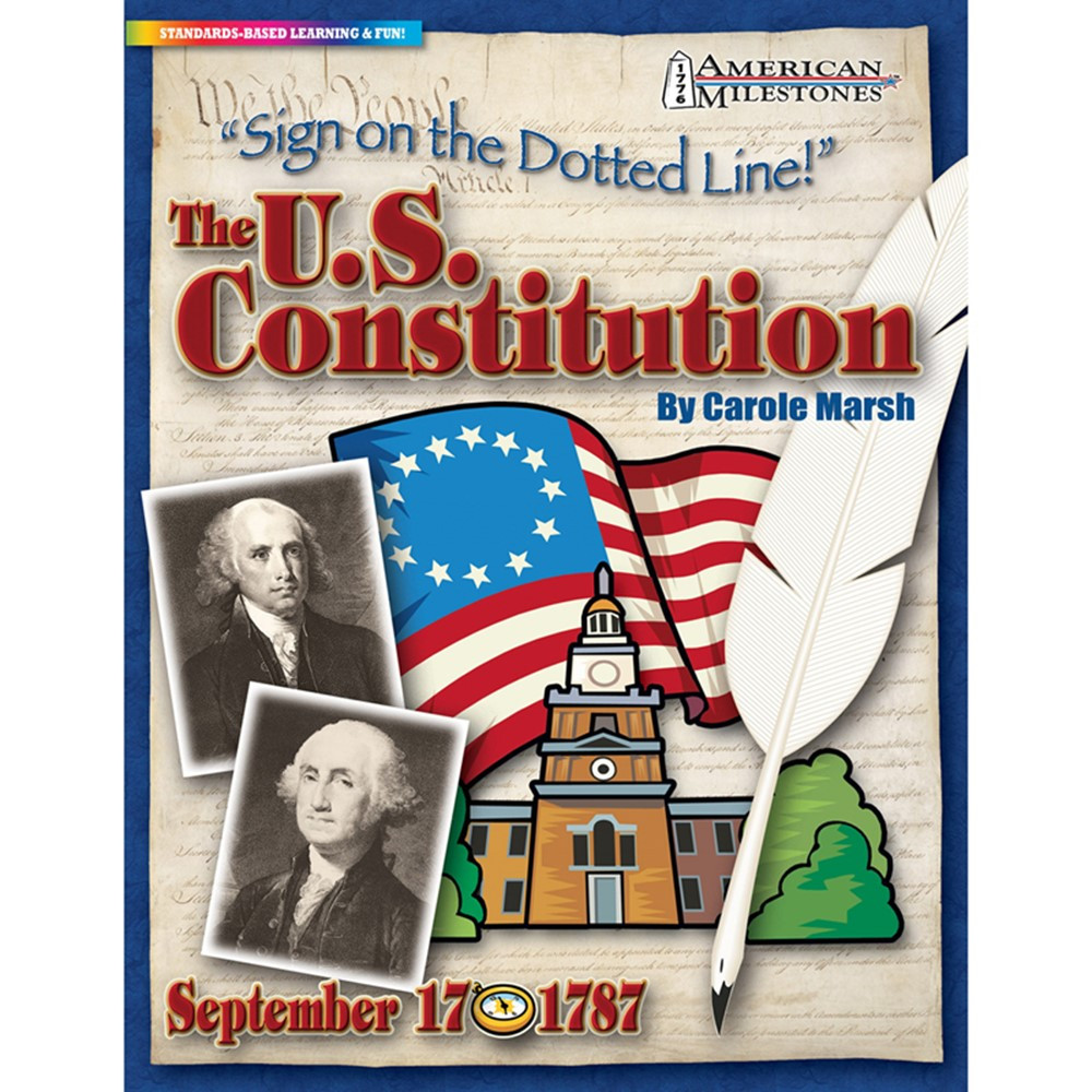 GAL0635026961 - Sign On The Dotted Line The Us Constitution in Social Studies