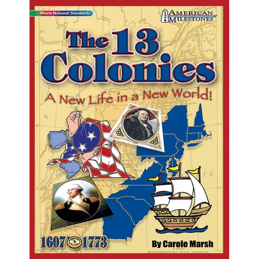 GAL9780635075079 - American Milestones The 13 Colonies in History
