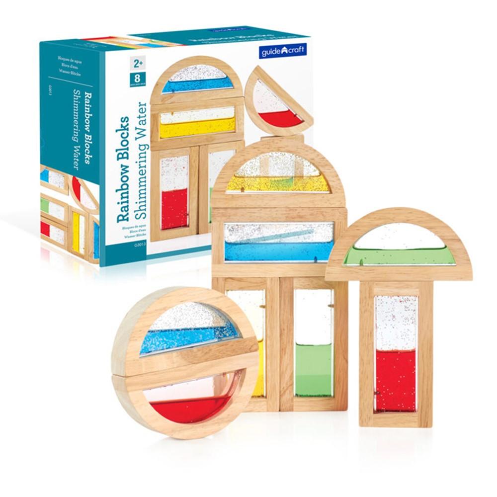 GD-3013 - Rainbow Blocks Shimmering Water in Blocks & Construction Play