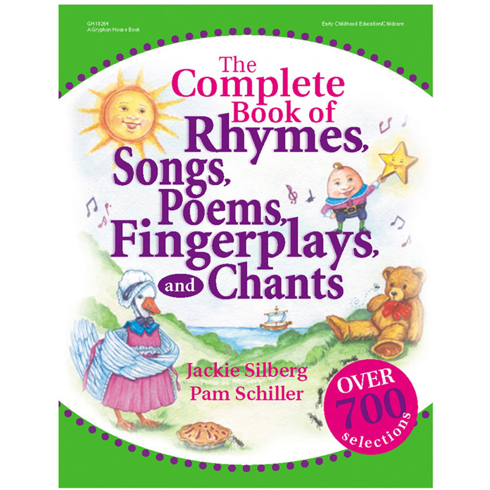 GR-18264 - The Complete Book Of Rhymes Songs in Activity/resource Books