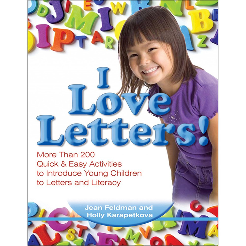 GR-19206 - Quick & Easy Activities I Love Letters in Letter Recognition