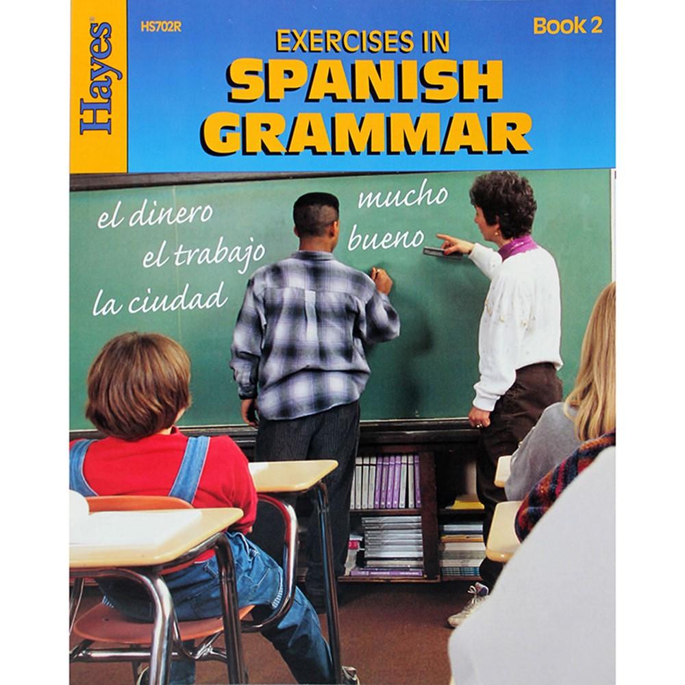 H-HS702R - Exercises In Spanish Grammar Book 2 in Language Arts