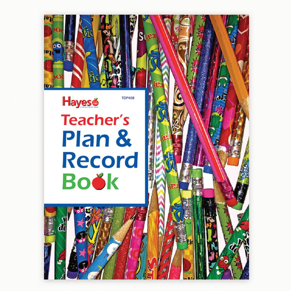 H-TDP408 - Teachers Plan And Record Book in Plan & Record Books