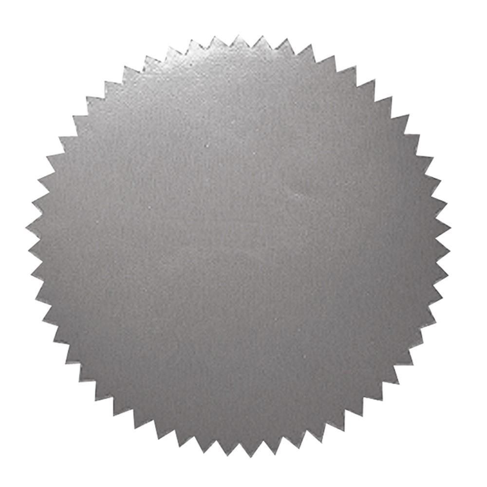 H-VA315 - Stickers Silver Blank 50/Pk 2 Diameter in Awards