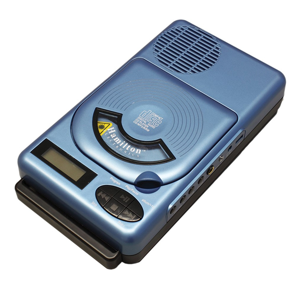HECHACX205 - Portable Cd Mp3 Player in Listening Devices