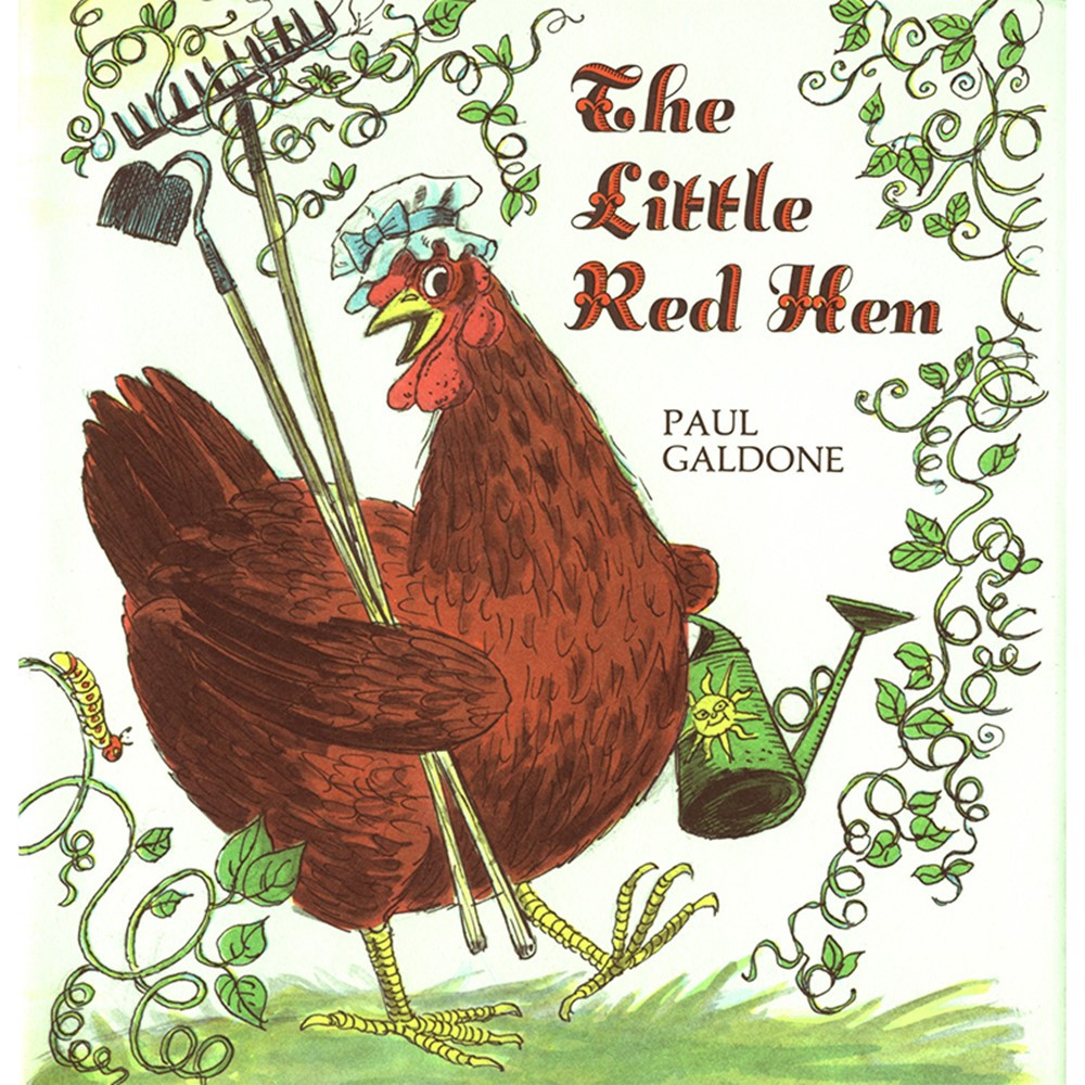 HO-0618836845 - Little Red Hen Big Book in Big Books