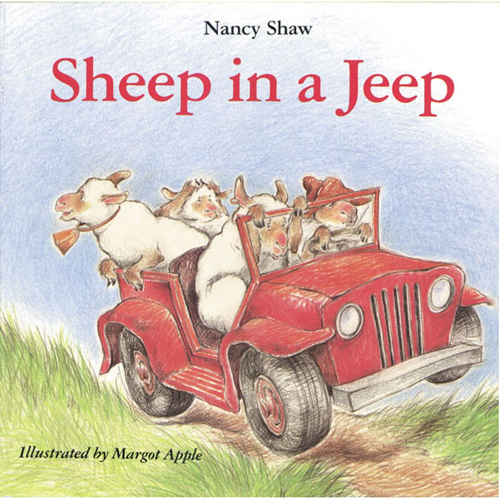 HO-395470307 - Sheep In A Jeep Classic Lit Book in Classroom Favorites