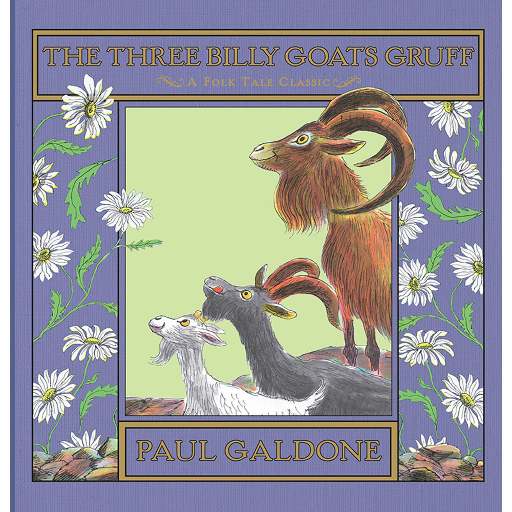 HO-9780547576558 - The Three Billy Goats Gruff Hardcover in Classics