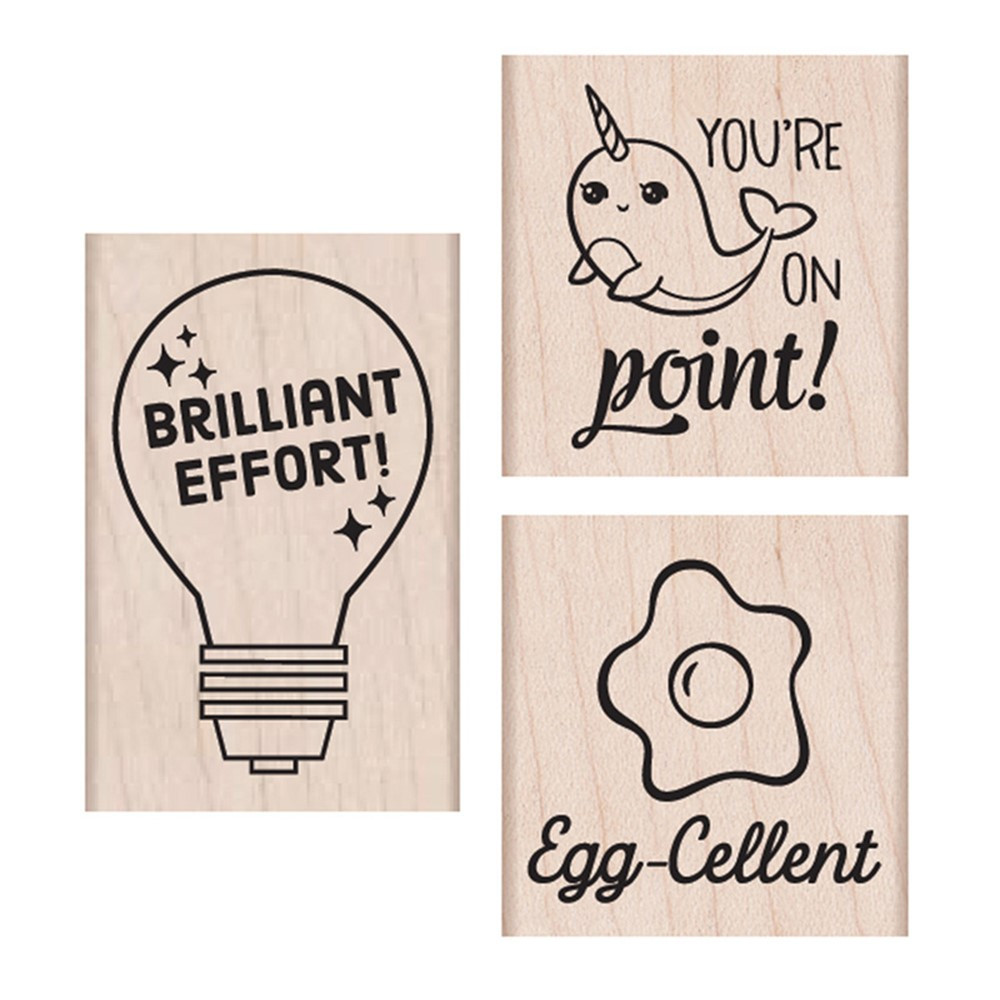 Brillant Effort Wood Stamps Set - HOASB234 | Hero Arts | Stamps & Stamp Pads