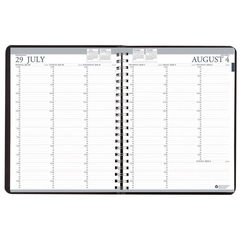 HOD257202 - Academic Professional Weekly Planner 12 Months Aug-July in Plan & Record Books
