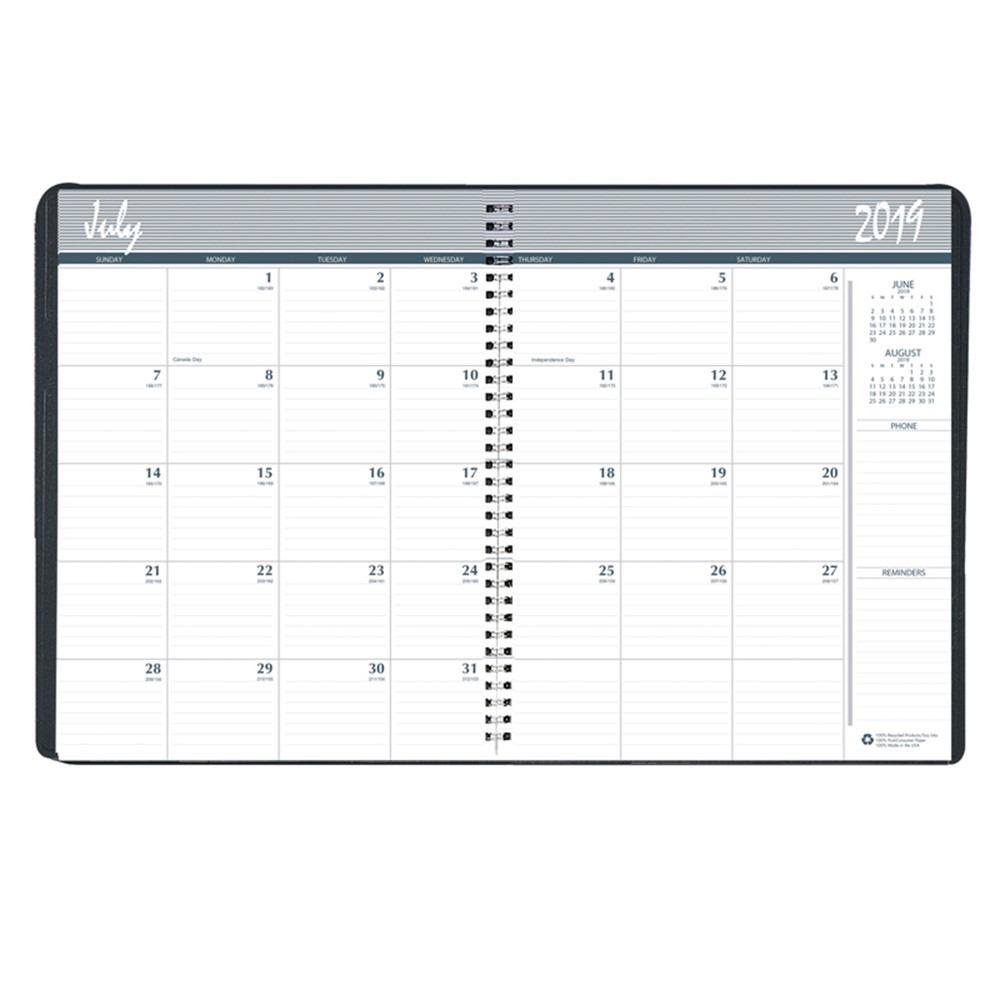 HOD26502 - Monthly Academic Planner in Plan & Record Books