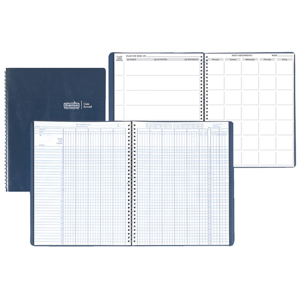 HOD51607 - Combination Lesson Planner & Class Record in Plan & Record Books