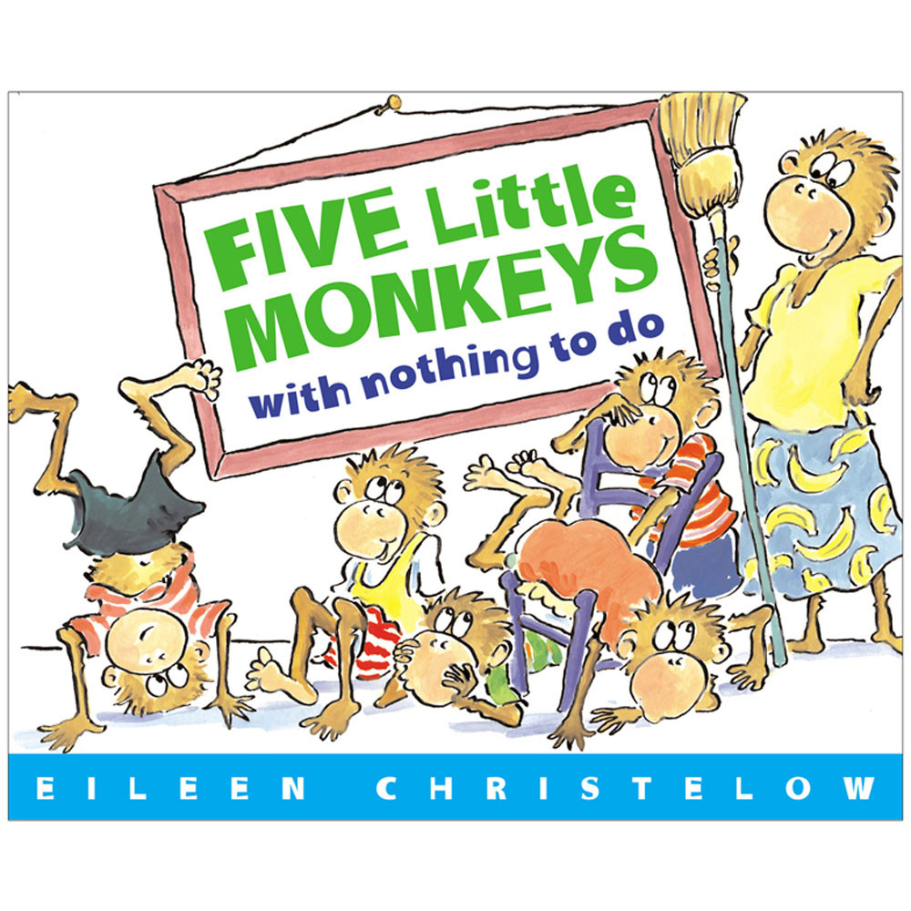 HOU9780618040322 - Five Little Monkeys With Nothing To Do in Classroom Favorites