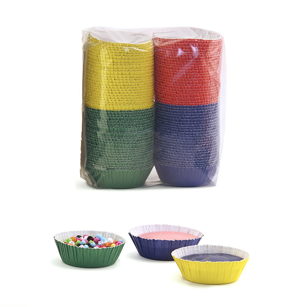 HYG36105 - Craft Cups Colored Pack Of 100 in Containers