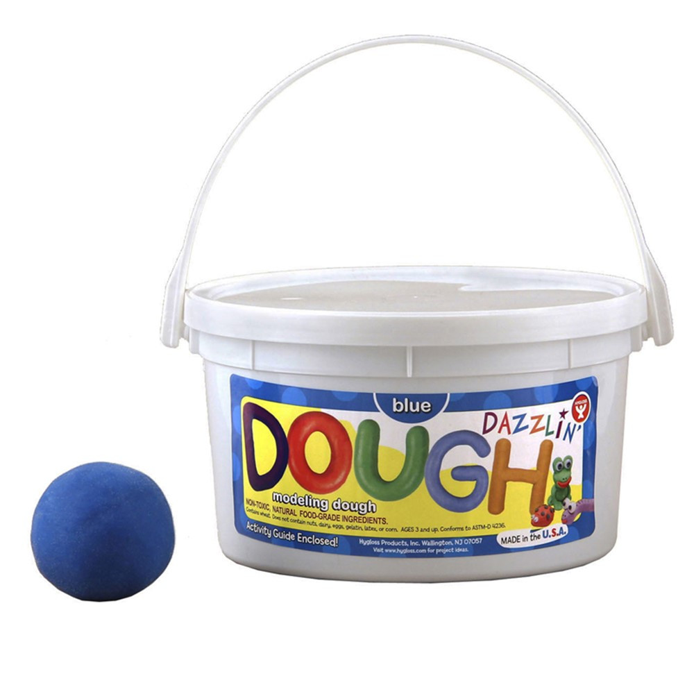 HYG48303 - Dazzlin Dough Blue 3 Lb Tub in Dough & Dough Tools