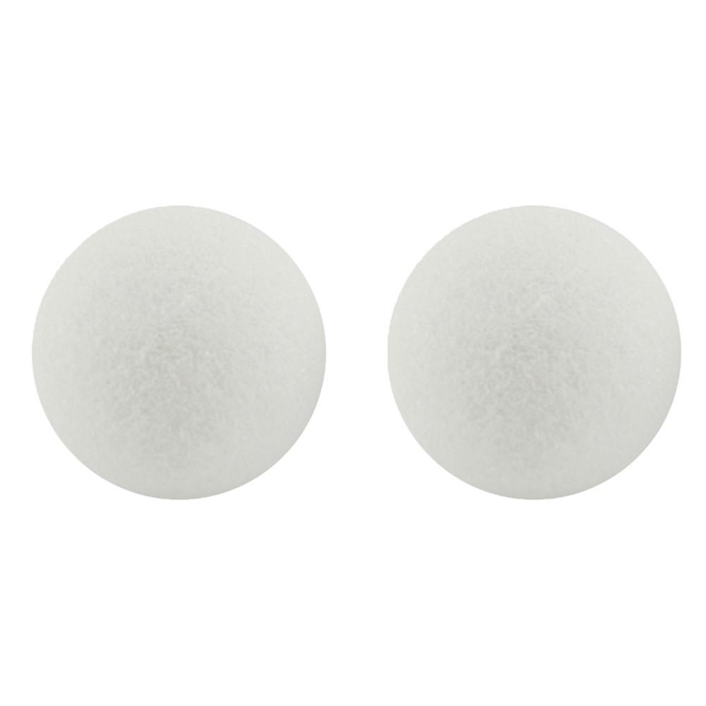 HYG51104 - Styrofoam 4In Balls Pack Of 12 in Styrofoam