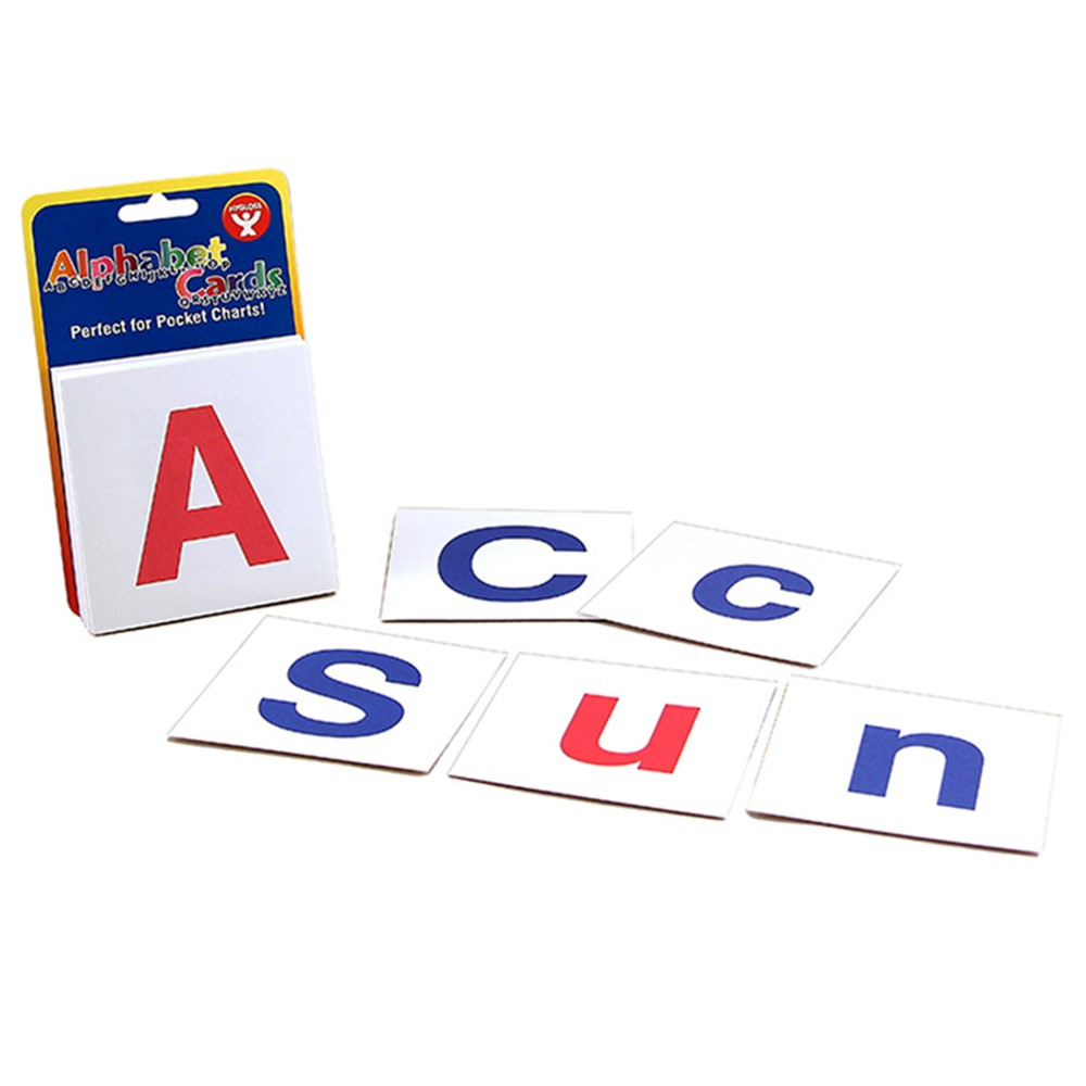 HYG61494 - Alphabet Cards Combo Pack in Letter Recognition