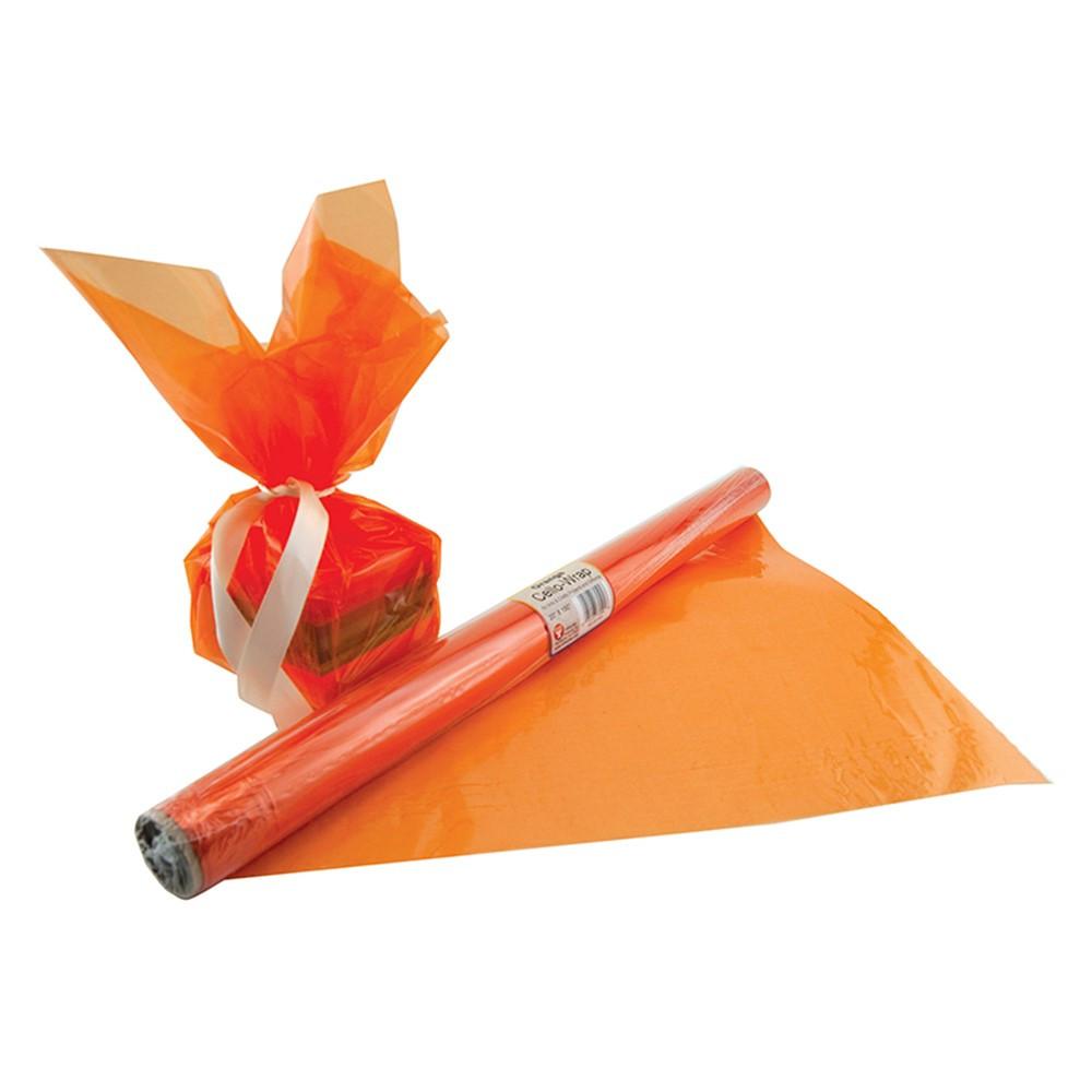 HYG71504 - Cello Wrap Roll Orange in Art & Craft Kits