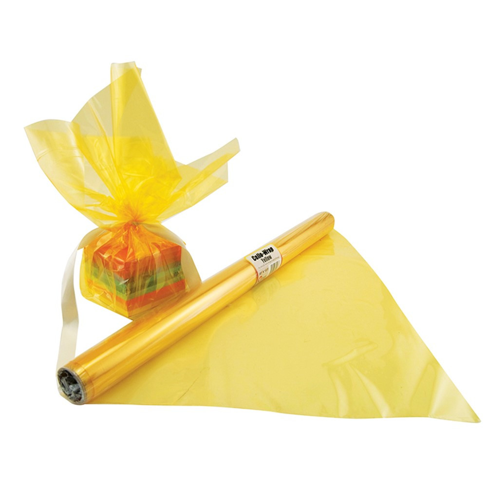 HYG71508 - Cello Wrap Roll Yellow in Art & Craft Kits
