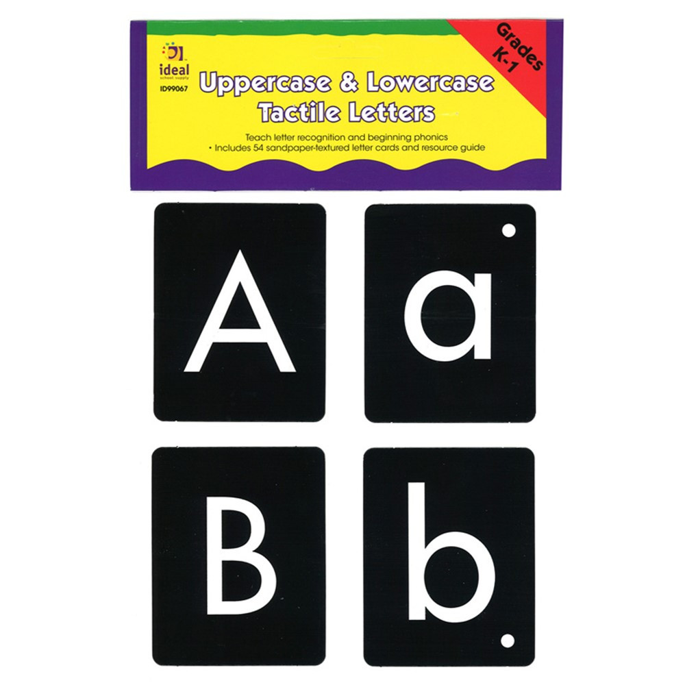 ID-99067 - Uppercase/Lowercase Tactile Letters in Language Arts