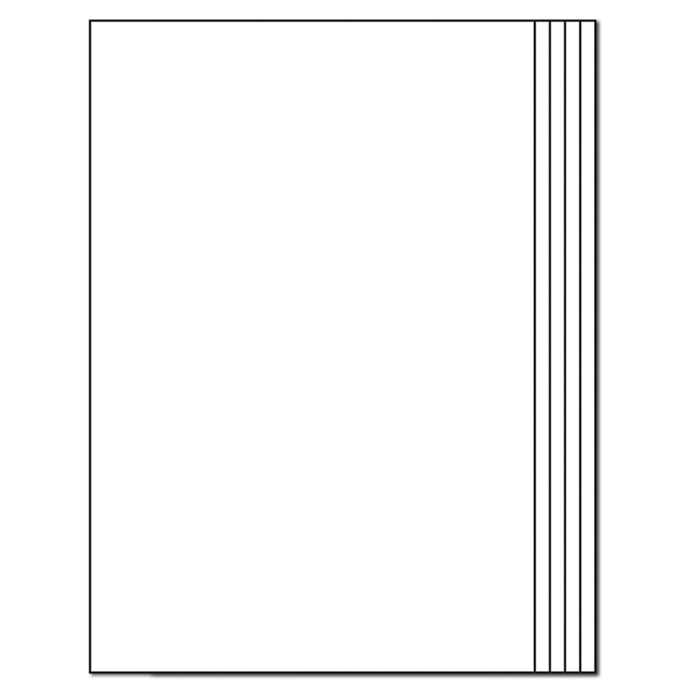 IF-81B - Blank Book Rectangle 12-Pk 16 Pgs 7 X 10 in Art Activity Books