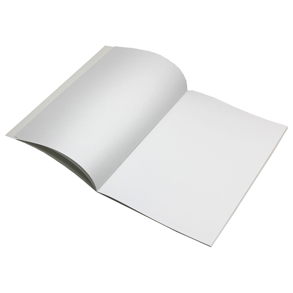 IF-81 - Blank Book Rectangle 16 Pages 7X10 in Art Activity Books