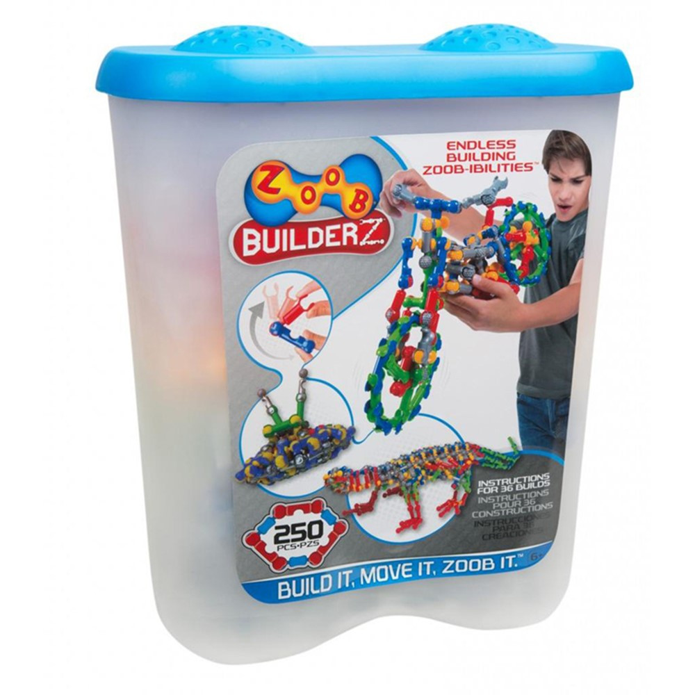 INF11250 - Zoob Construction Set 250 Pieces in Blocks & Construction Play