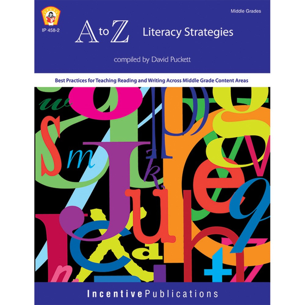 IP-4582 - A To Z Literacy Strategies in Reading Skills