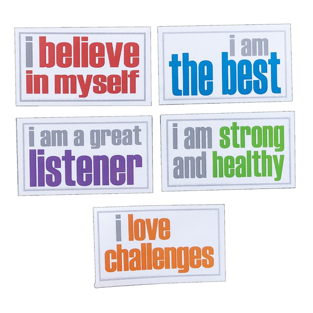 Positivity Magnets, Pack of 5 - ISM52355M   Inspired Minds   Magnetism