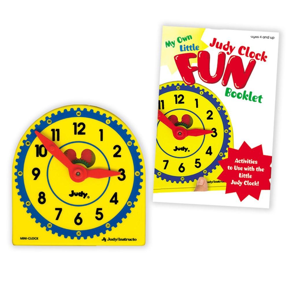 J-209044 - My Own Little Judy Clock W/ Book Gr K-3 Booklet in Time