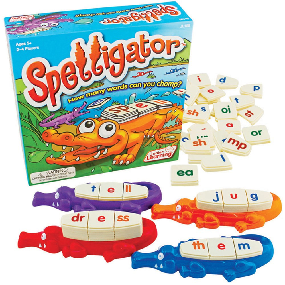 JRL100 - Spelligator Game in Phonics