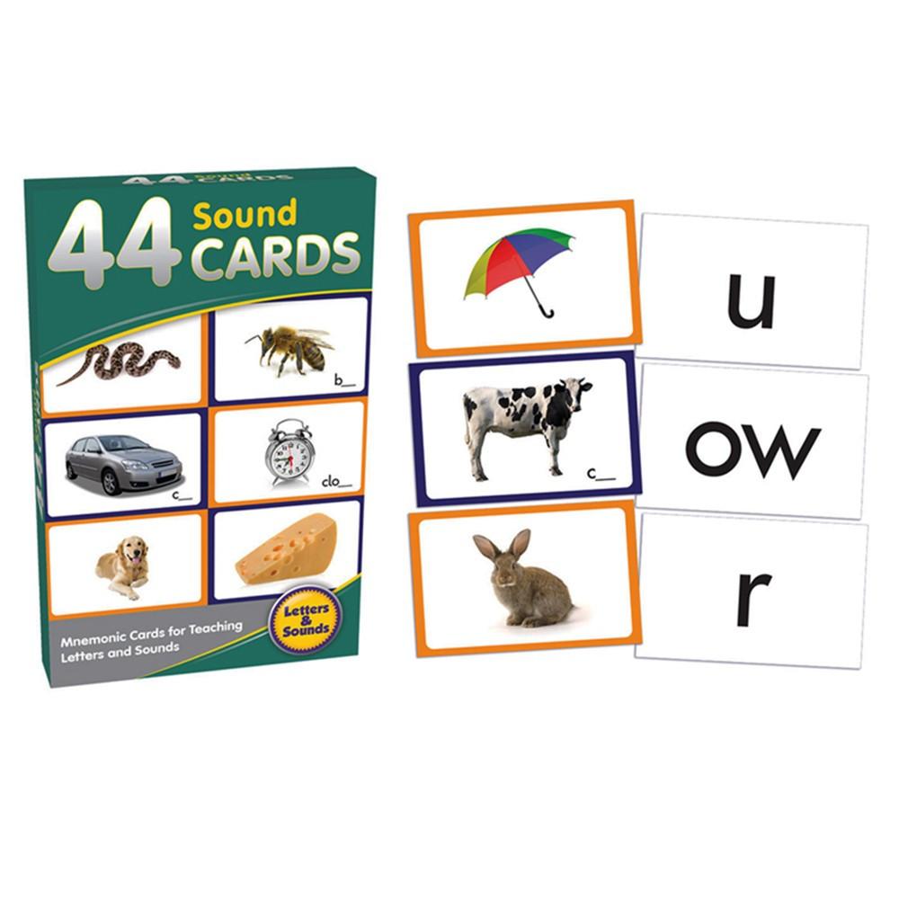 JRL269 - 44 Sound Cards in Letter Recognition