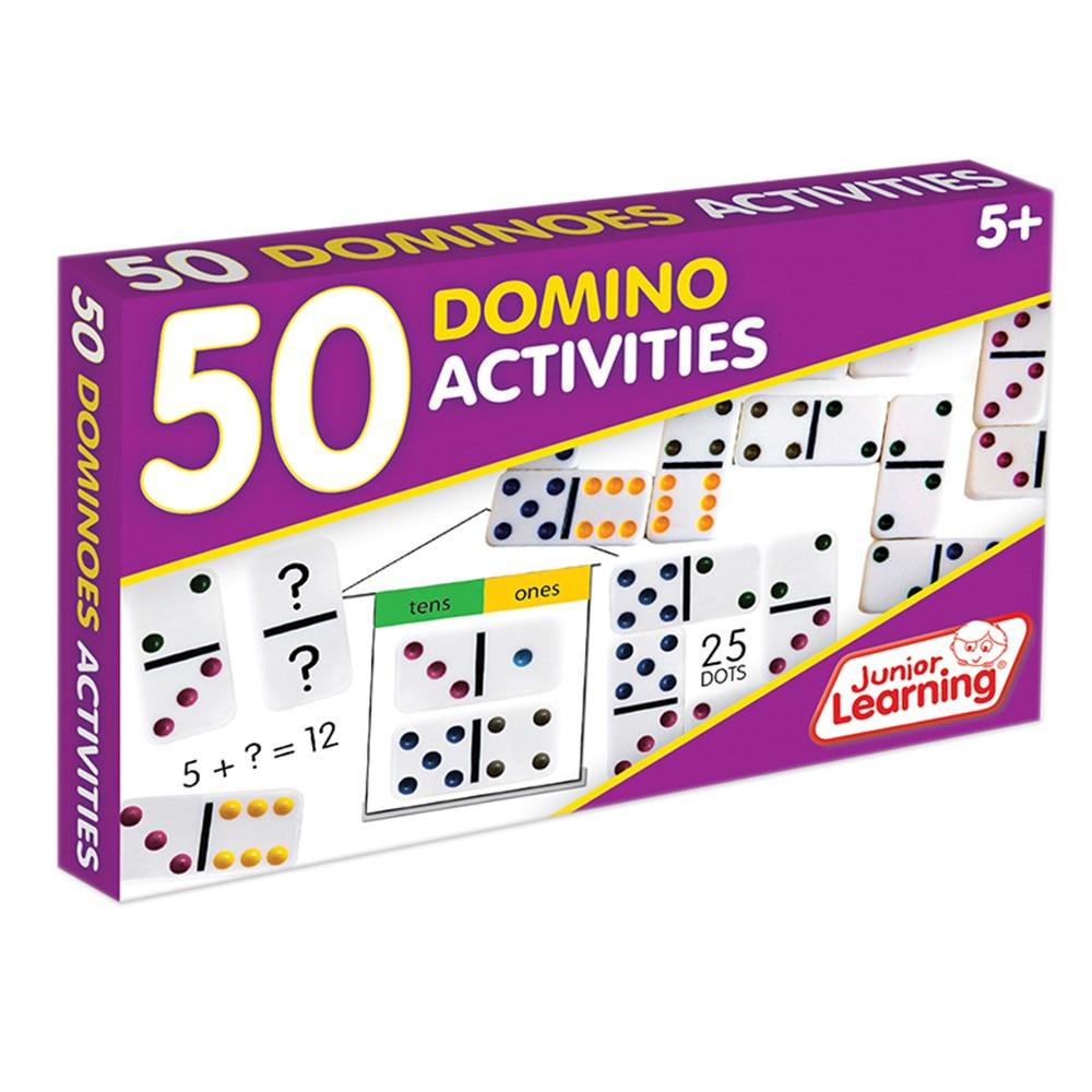 JRL339 - 50 Dominoes Activities in Dominoes